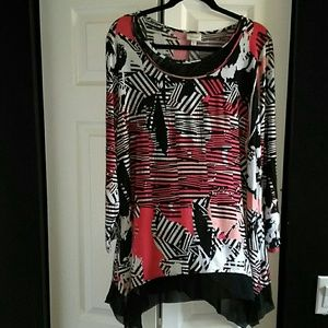 Avenue Women Long sleeve Tunic size 18/20
